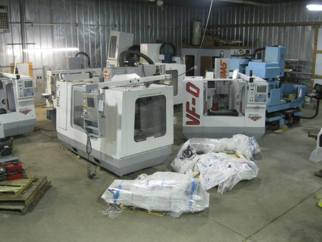 Used CNC Machinery by Manufacturer