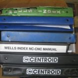 Wells_CNC mill_manuals