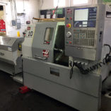 2008 Haas SL10 CNC Lathe - Front Right