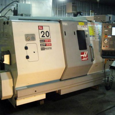 Used Haas Lathe CNC SL-20 - Front Left