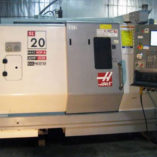 Used Haas Lathe CNC SL-20 - Front
