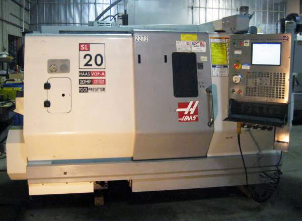 SOLD *** 2005 Haas SL-20 CNC Lathe SN 70460 - Jamestown Machinery Haas Sl Wiring Diagram on