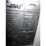 Used Haas Lathe CNC SL-20 - SN