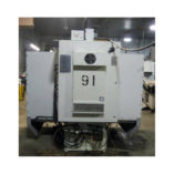Used Haas VF-0E CNC Vertical Machining Center - Back